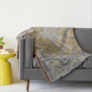 Cobertor Cobertura de mármore do lance do efeito