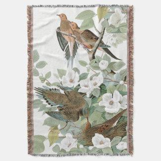 Cobertor Cobertura de WildlifeThrow dos pássaros da pomba