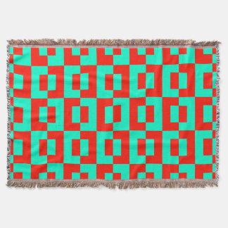 Cobertor Cobertura do lance com design dos azulejos de
