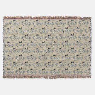 Cobertor Cobertura do lance da agitação da cisne (ouro)