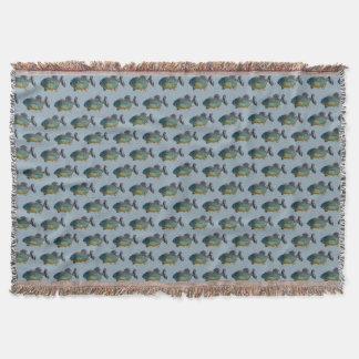 Cobertor Cobertura do lance da agitação do Piranha (azul)