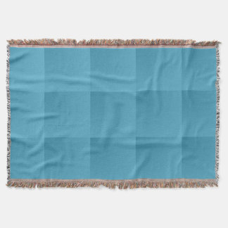 Cobertor Cobertura do lance da xadrez de turquesa