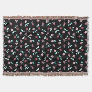 Cobertor Cobertura do lance das flores do trevo