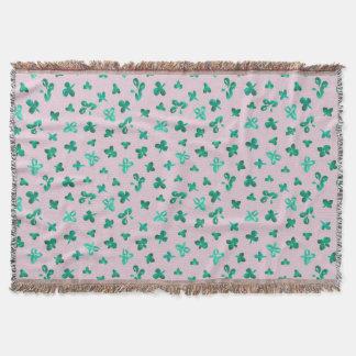 Cobertor Cobertura do lance das folhas do trevo
