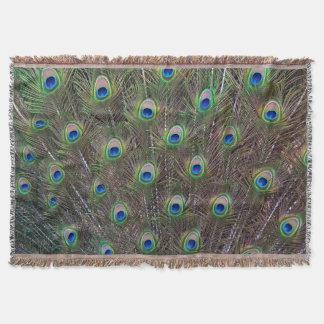 Cobertor Cobertura do lance das penas do pavão