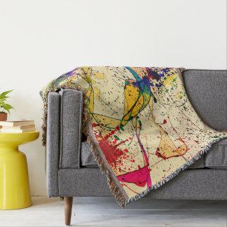 Cobertor Cobertura do lance das pinturas