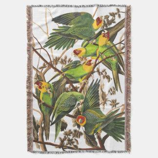 Cobertor Cobertura do lance de Audubon dos pássaros do
