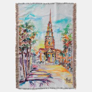 Cobertor Cobertura do lance de Charleston South Carolina