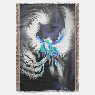 Cobertor Cobertura do lance de Phoenix do espaço