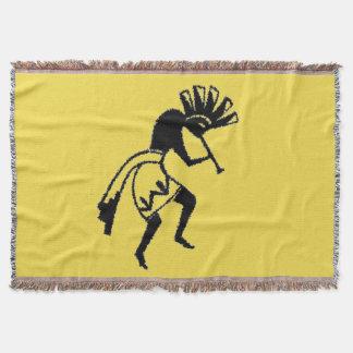 Cobertor Cobertura do lance | do amarelo | Kokopelli
