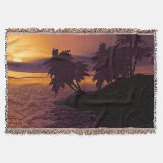 Cobertor Cobertura do lance do nascer do sol