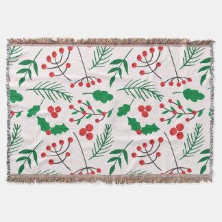 Cobertor Cobertura do lance do Natal - alegria do Natal