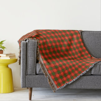 Cobertor Cobertura do lance do Tartan de Crawford