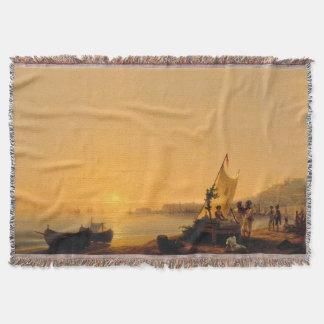 Cobertor Cobertura do lance dos barcos de pesca da costa de