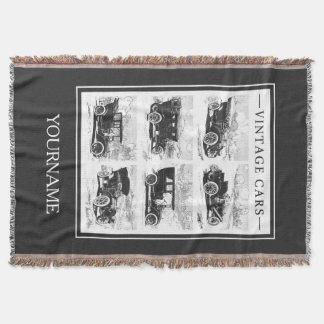 Cobertor Cobertura do lance dos carros vintage