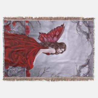 Cobertor Cobertura feericamente do lance da borboleta do
