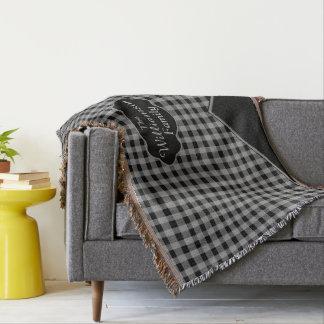 Cobertor Cobertura feita sob encomenda do lance das cinzas