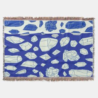 Cobertor Cobertura mineral azul