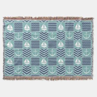 Cobertor Cobertura náutica do lance da edredão