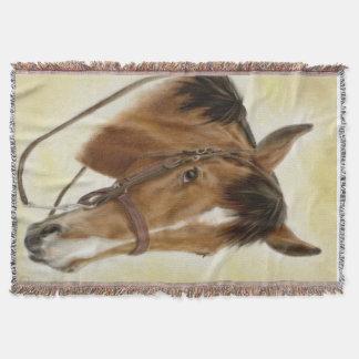 Cobertor Cobertura ocidental do lance do cavalo