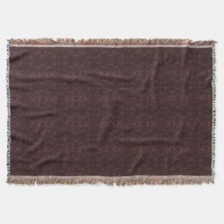 Cobertor Cobertura simplesmente escura do lance de Borgonha