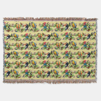 Cobertor Cobertura tropical do lance (amarelo)