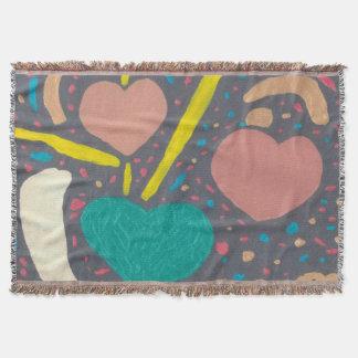 Cobertor Comemore a cobertura do lance do amor