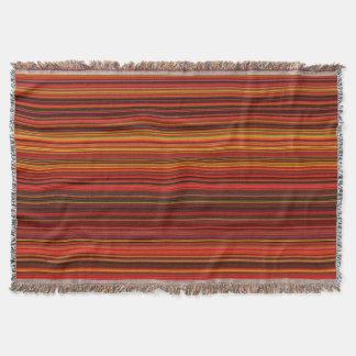 Cobertor Cor morna - estilo na moda - teste padrão da