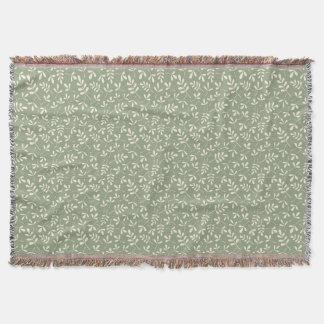 Cobertor Creme Assorted do teste padrão de Sml das folhas
