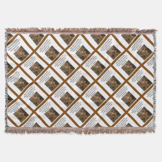 Cobertor dança quadrada