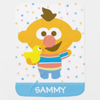 Cobertor De Bebe A cara do bebê de Ernie e Duckie | adicionam seu