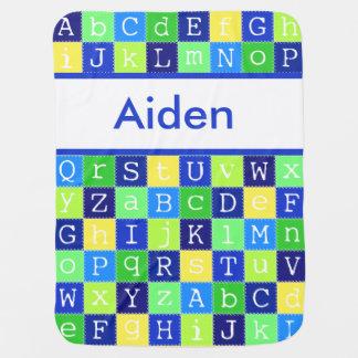 Cobertor De Bebe A cobertura personalizada de Aiden