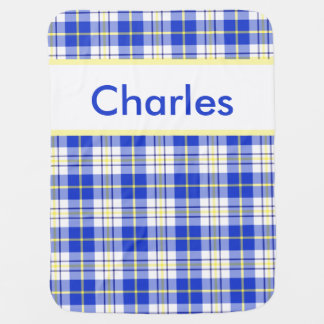 Cobertor De Bebe A cobertura personalizada de Charles