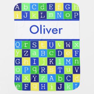 Cobertor De Bebe A cobertura personalizada de Oliver