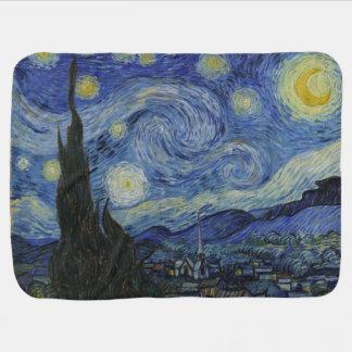 Cobertor De Bebe A noite estrelado Van Gogh