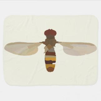 Cobertor De Bebe amarelo bonito animal da ciência da natureza do
