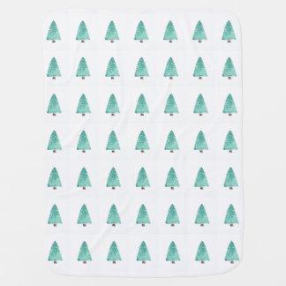 Cobertor De Bebe Árvores verdes