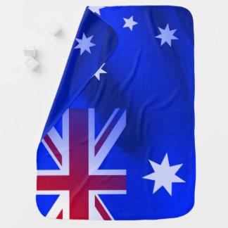 Cobertor De Bebe Bandeira australiana