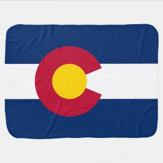 Cobertor De Bebe Bandeira patriótica de Colorado