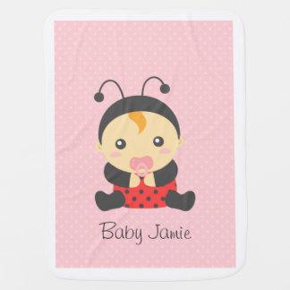 Cobertor De Bebe Bebé bonito do joaninha, para crianças
