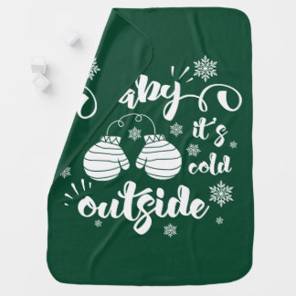 Cobertor De Bebe Bebê seu inverno bonito dos mitenes da parte