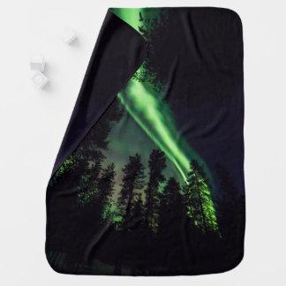 Cobertor De Bebe Borealis da Aurora em Lapland finlandês