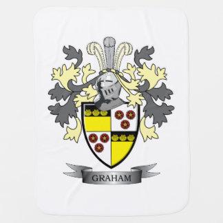 Cobertor De Bebe Brasão da crista da família de Graham