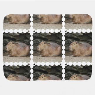 Cobertor De Bebe Capybara