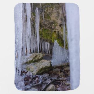 Cobertor De Bebe Caverna do gelo