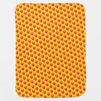 Cobertor De Bebe Cobertura animador do bebê da morango