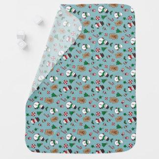 Cobertor De Bebe Cobertura bonito do bebê dos amigos da neve