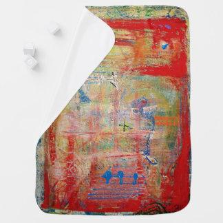 """Cobertor De Bebe Cobertura """"cruz """" do bebê do desenhista da arte"""