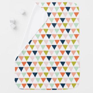 Cobertor De Bebe cobertura do bebê com design do triângulo
