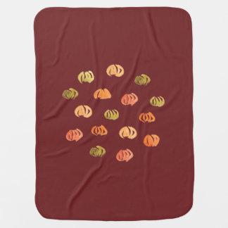 Cobertor De Bebe Cobertura do bebê da abóbora